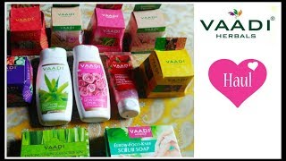 Vaadi Herbals Product Haul & Review || Affordable Skincare Herbal Products Under Rs. 100 ||
