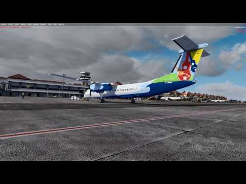 Aerosoft Bali X and Q400 immersion pack