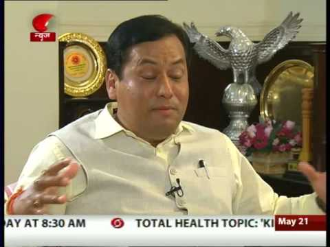Interview with Union Minister for Sports & Youth Affairs Sarbananda Sonowal | 21 May 2016