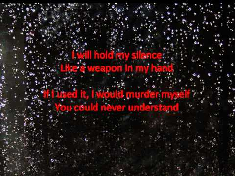 Silence Kills w/ Lyrics