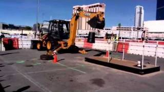 North America - Triple Threat Rodeo Championship - Loader Backhoe Challenge (Part 1)