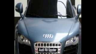 Kinderauto Kinder Elektroauto Original Lizenziert Audi R8 Spyder 12V MP3 Fernbedienung Highlight
