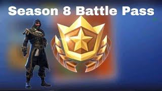New Season 8 Battle Pass! | Fortnite Battle Royale