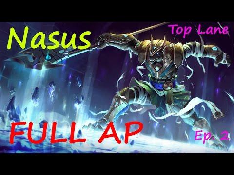 Full AP Nasus - League of Legends