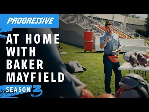 Baker Mayfield Holds A Yard Sale | Progressive Insurance Commercial