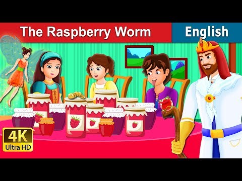 The Raspberry Worm Story | Stories For Teenagers | English Fairy Tales