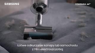 Bezprzewodowy odkurzacz POWERstick Jet™ | Mini elektroszczotka