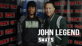 John Legend on Being Married to Chrissy Tiegen on Sway in the Morning | Sway's Universe
