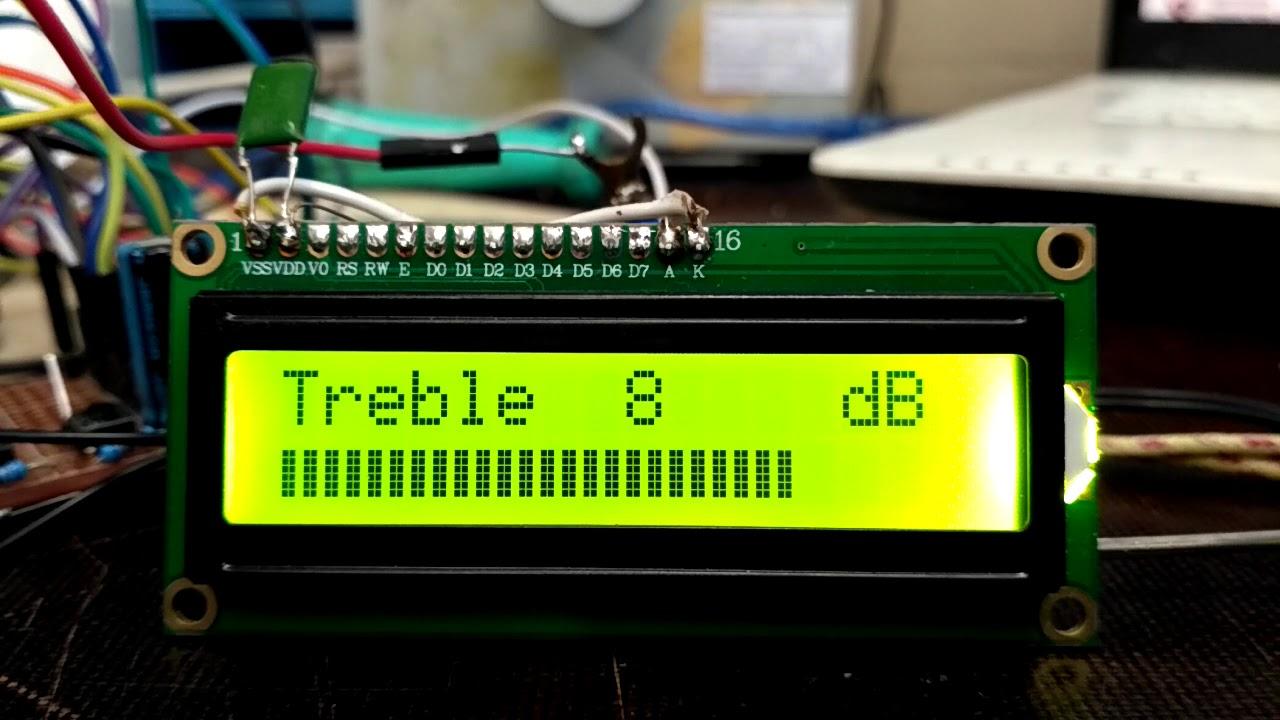 TDA7442 (Arduino)