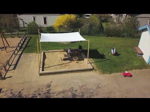 Förskolor brister i solskydd åt barnen  - Nyheterna (TV4)