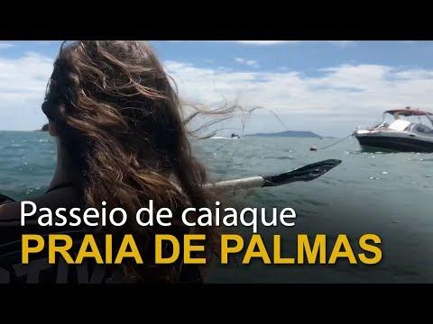 Passeio de caiaque (Praia de Palmas, SC)