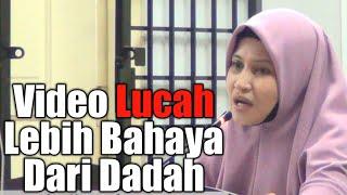 Video Lucah Lebih Bahaya Dari Dadah : Ustazah Asma Harun