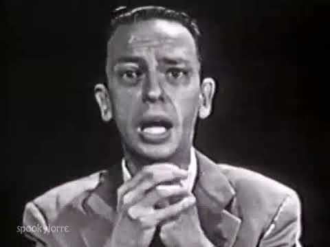 DON KNOTTS beats heat  Man in the Street w Tom Poston & Louis Nye