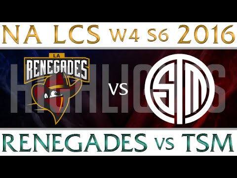 Renegades Vs Tsm