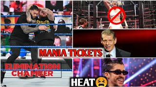 WrestleMania Tickets, Women's Elimination Chamber, Bad Bunny Heat, More!
