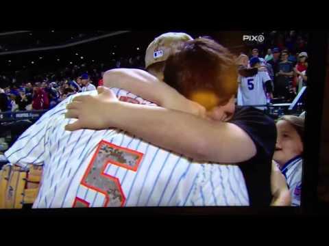 David wright hugs