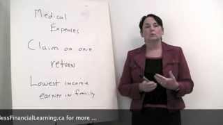 Claim Medical Expenses on One Return