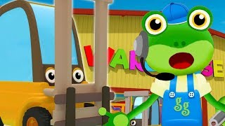 Gecko and The Forklift SONG | Nursery Rhymes and Kids Songs | Learning For Kids | Gecko's Songs