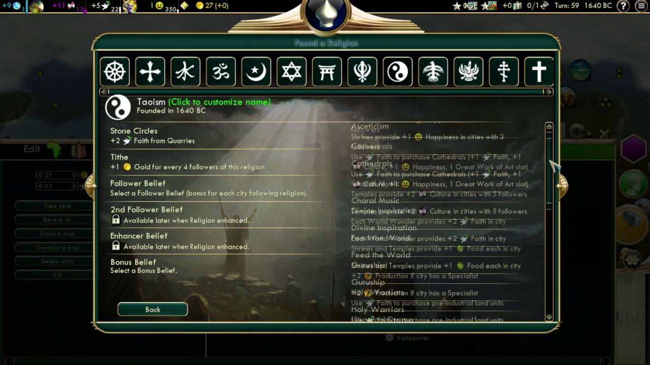 How to change your civilization's name in civilization 5 youtube.