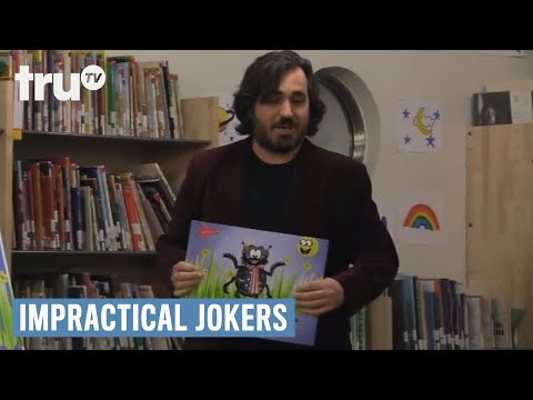 Impractical Jokers - Disturbed Children's Book Author (Punishment) | truTV