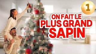 ON FAIT LE PLUS GRAND DES SAPINS 🎄VLOGMAS EP1