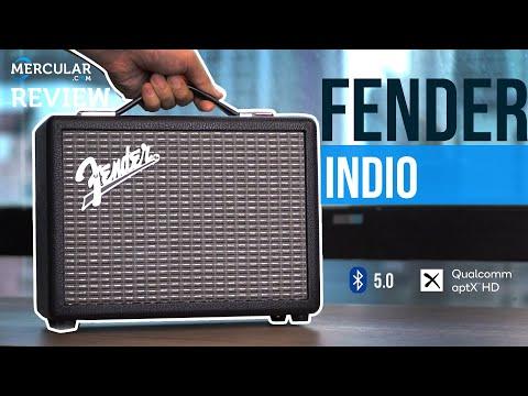 รีวิว Fender Indio  ลำโพงพกพา ดีไซน์คลาสสิค ราคา 13,900 บาท