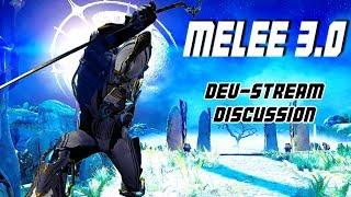 warframe melee 30 devstream discussion