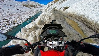 - A frozen Adventure on BMW GS 310  Winter ride to white spiti kaza