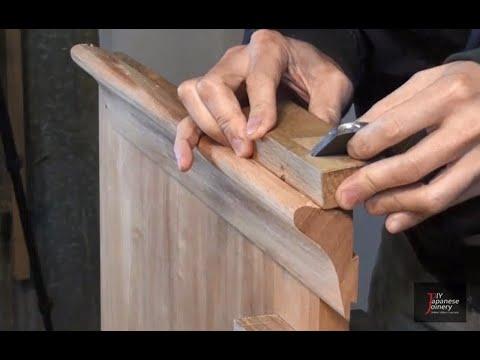 ASMR Japanese woodworking