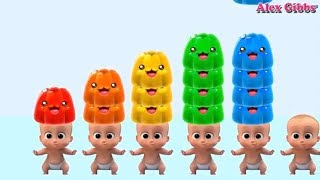 Cake Pops Boss Baby Learn Colors And Numbers Learn Colors For Kids Episode 60 - ALEX GIBBS