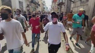 Thousands of Cubans protest against the communist government: 'We are no longer afraid'