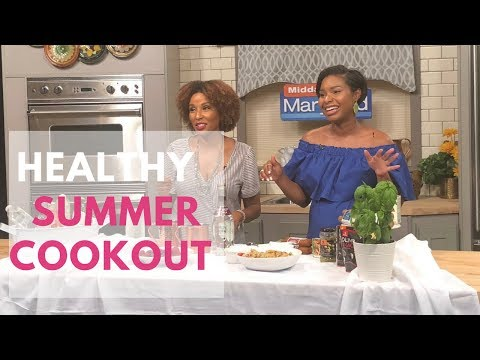 Healthy Summer Cookout Sides Ideas | Maryland Midday KylaLive