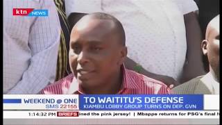 Kiambu lobby group threatens to eject Deputy Governor for criticisms against Governor Waititu