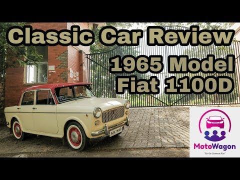1965 Fiat 1100D aka 'Premier Padmini' - Classic Car Review #1 - Tamil - MotoWagon