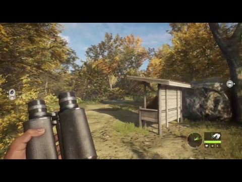 The Hunter Call Of The Wild PS4 How to use tent and blinder