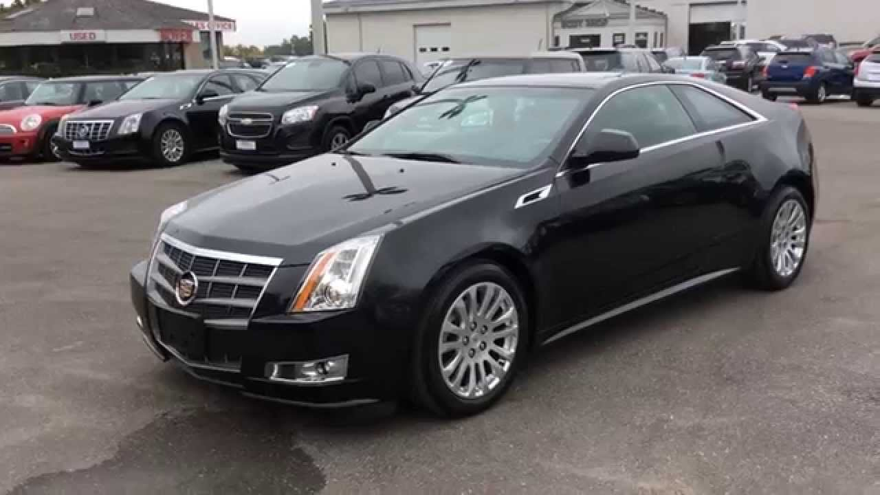 Used Cadillac Cts Coupe >> Used 2011 Cadillac CTS Coupe 2dr Performance AWD Pickering ON | Review, For Sale | Boyer ...