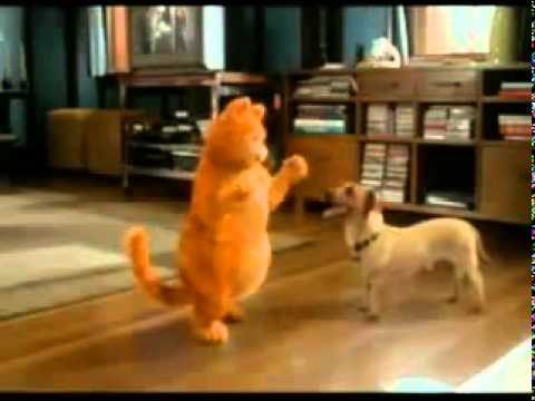 odie the dog garfield. garfield \u0026 odie - bailando the dog