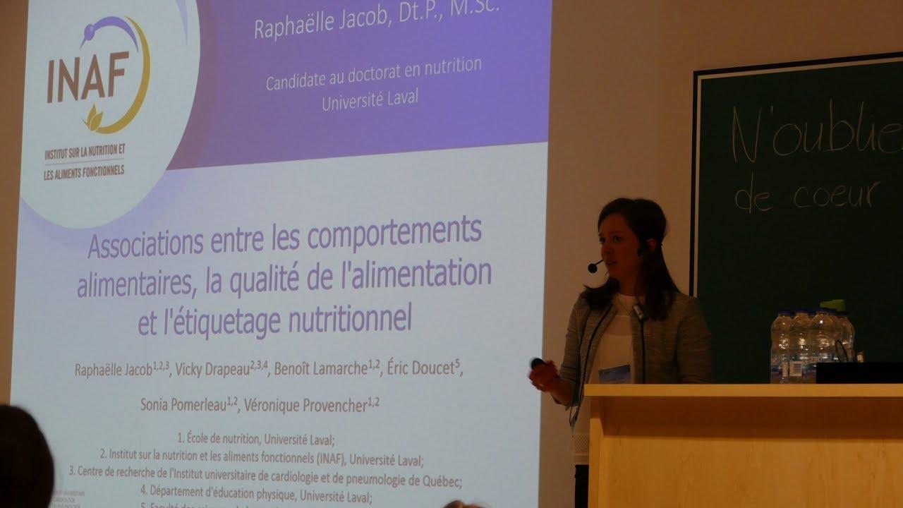 Associer les comportements alimentaires, la qualité de l'alimentation et l'étiquetage nutritionnel