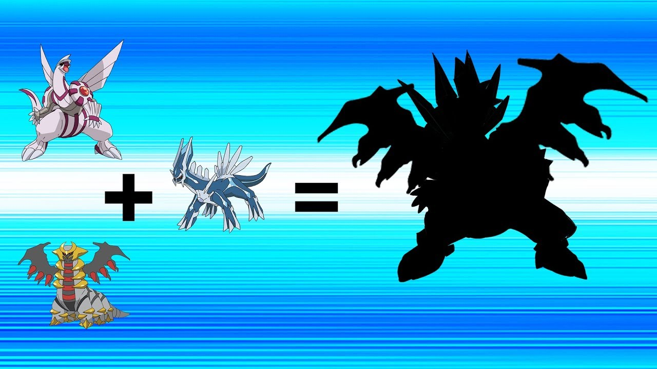 Dialga And Palkia Fusion Pokemon Fusion ...