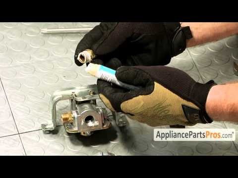 How To: Whirlpool/KitchenAid/Maytag Gas Pressure Regulator W10624131