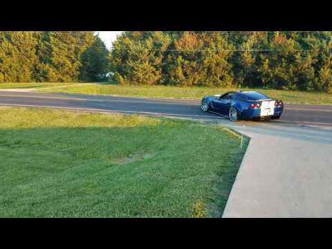 C6 corvette road test