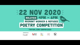 Finals of the Migrant Worker & Refugee Poetry Competition Malaysia
