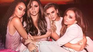 Little Mix - Woman Like Me ft. Nicki Minaj (lyric-video)