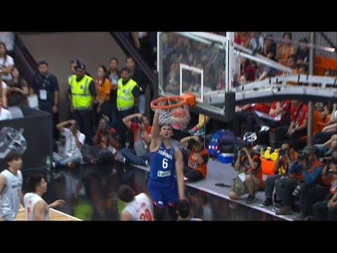 Kobe Paras THROWS DOWN the Monster Slam vs Malaysia (VIDEO) SEA Games 2017