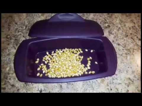 Popcorn in the Epicure Steamer