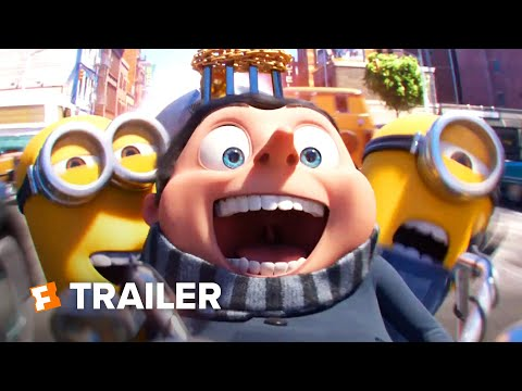 Minions: The Rise of Gru Trailer (2020)   Movieclips Trailers