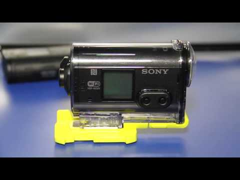 2014 Sony HDR-AS30V Helmet Camera , K-Edge mounts, and LCD Accessories Overview