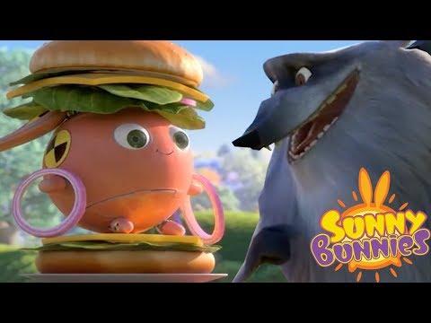 Cartoons for Children   BUNNY BURGER - SUNNY BUNNIES   Cute Cartoons   Funny Cartoons For Children
