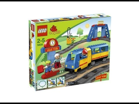 Lego Duplo Train Bridge 3774 Instructions