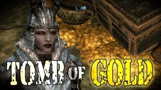 Skyrim For Pimps - Tomb of Gold (S4E15) Dragonborn Walkthrough